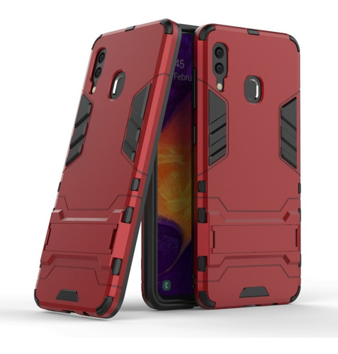 galaxy a30 / a20 carcasa antigolpes colorcell