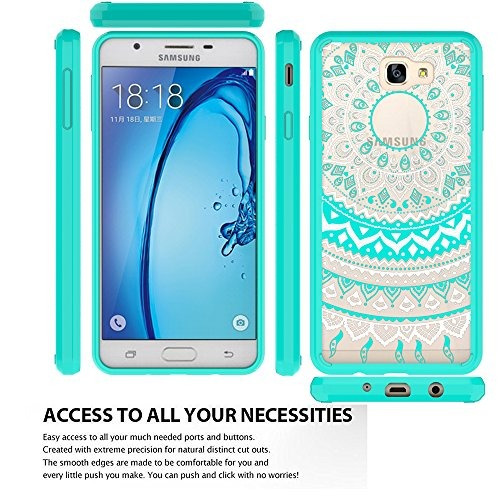 galaxy j7 prime case (no fit metropcs y t-mobile lanzado) co