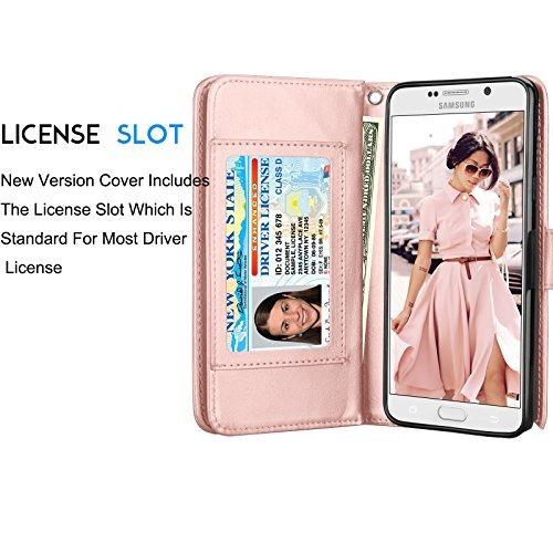galaxy note 5 case, note 5 wallet case, samsung galaxy note