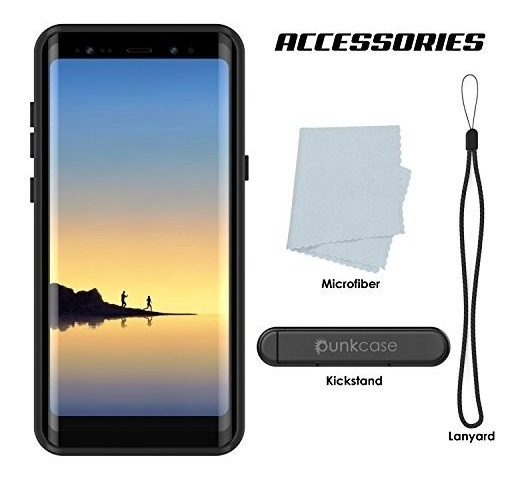 huge discount 458d7 76a9a Galaxy Note 8 Waterproof Case, Punkcase [studstar