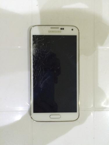 galaxy s5 pantalla dañada