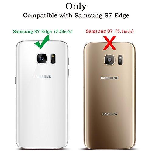 new style 8f5b5 ce1c2 Galaxy S7 Edge Case, Samsung S7 Edge Case, Bentoben 3 Capas