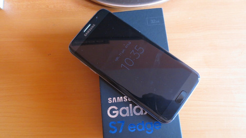 galaxy s7 edge seminuevo con factura