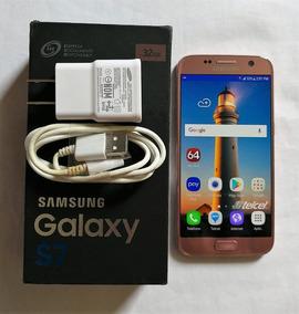 Galaxy S7, Sm-g930f, Rosa, Estetica 9, En Caja, Telcel