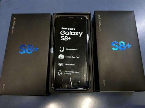 galaxy s8+ plus 64gb + nota + case - na compra de 01un...