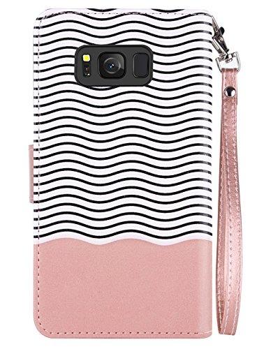 innovative design 063e6 6a88a Galaxy S8 Wallet Case Samsung Galaxy S8 Case Bentoben Glitte