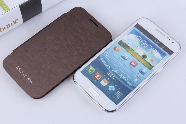 37a1b623029 Galaxy Win Duos Gt-i8552 - Capa Case - Flip Cover + Película - R$ 22 ...