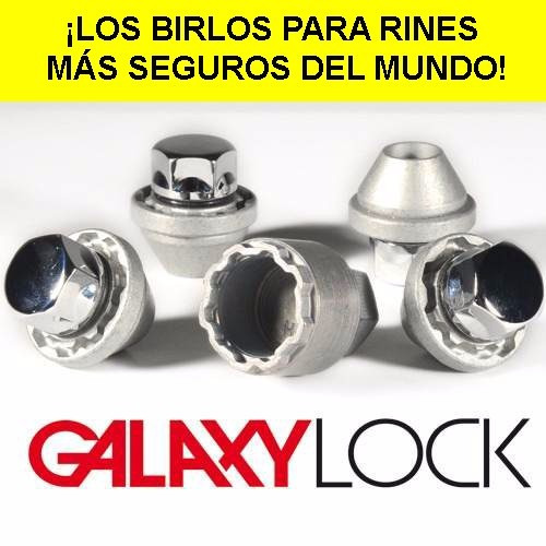 galaxylock birlos de seguridad  ¡para todos los rines!