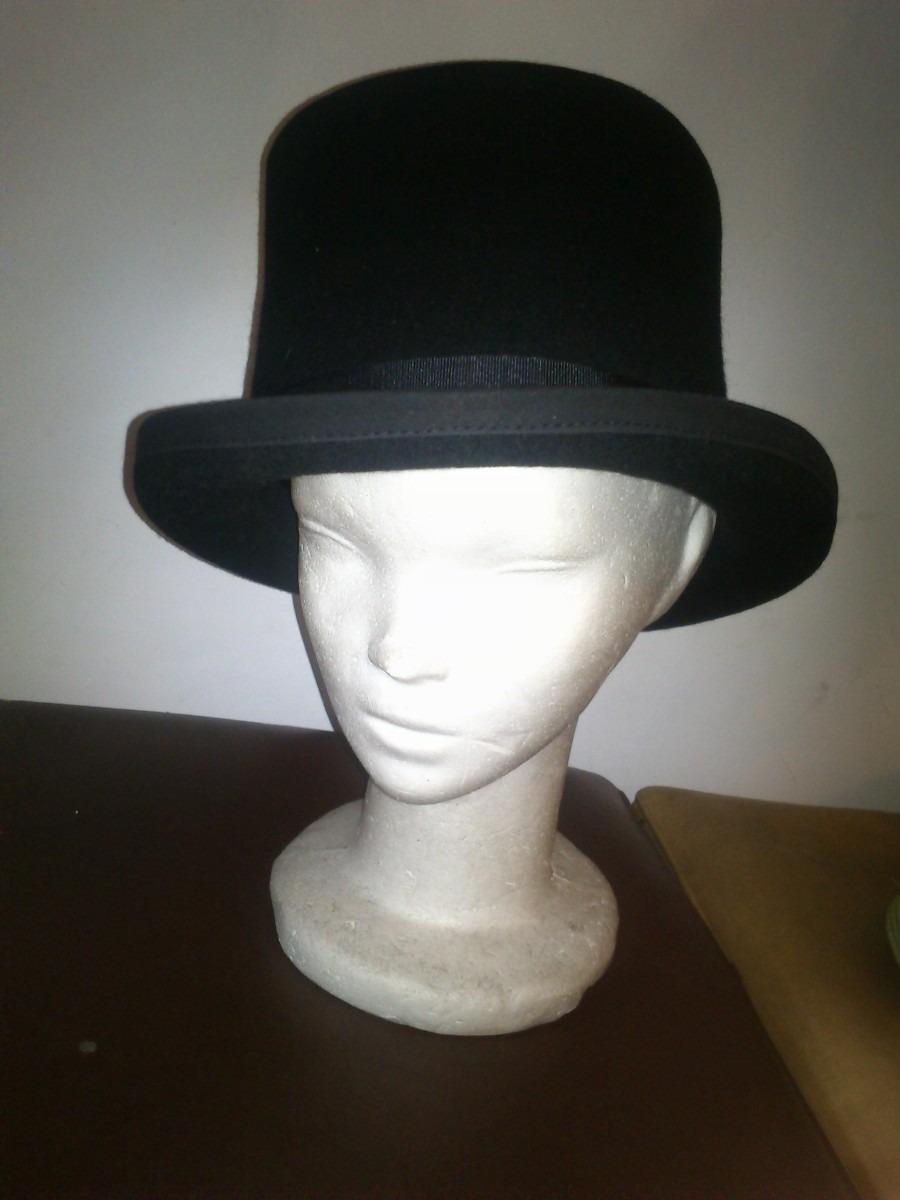 be11600deeb1a galera (sombrero de copa)fieltro de lana de vicuña. Cargando zoom.
