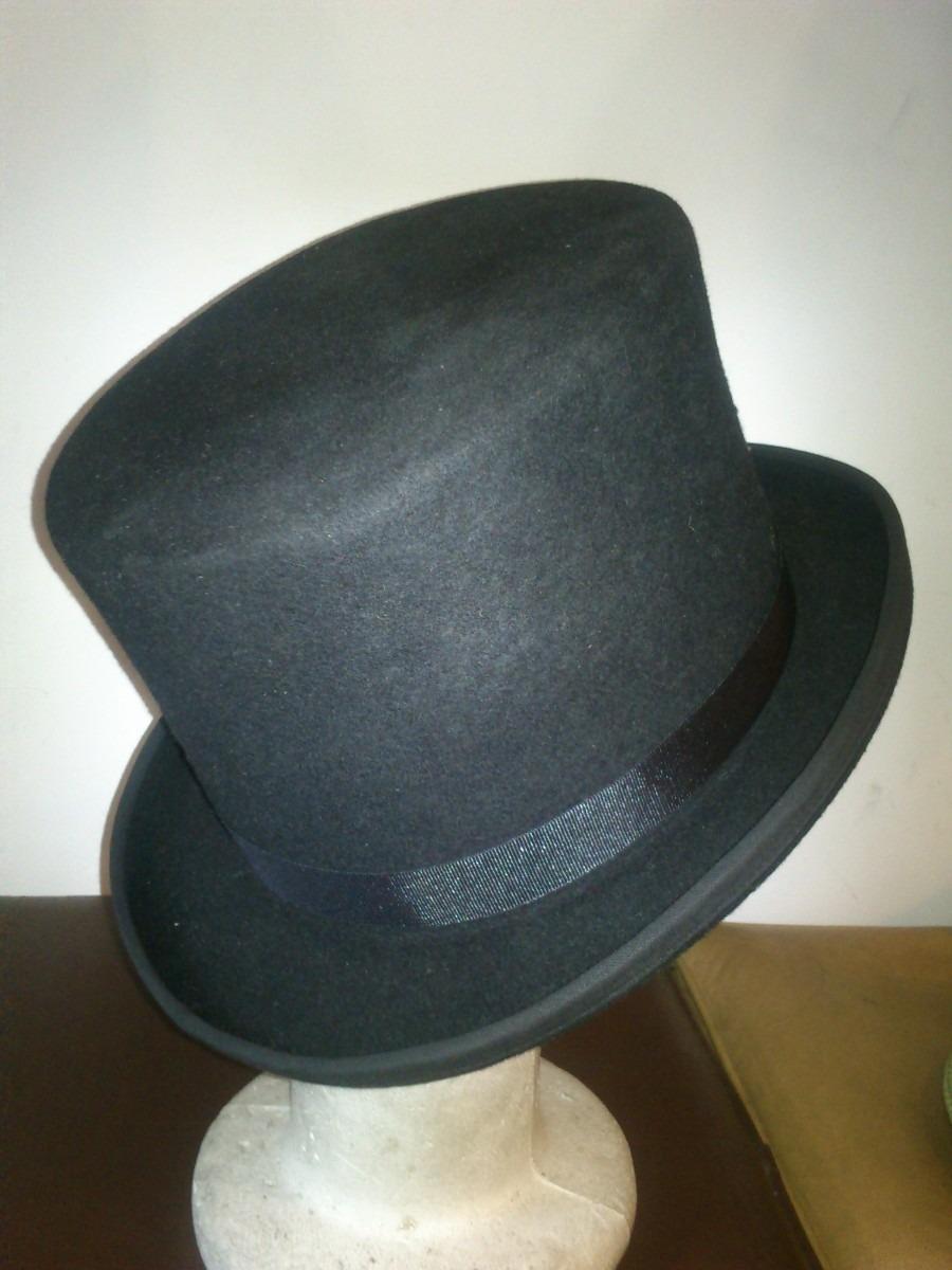 Galera (sombrero De Copa)fieltro De Lana De Vicuña -   3.950 c49518912ad