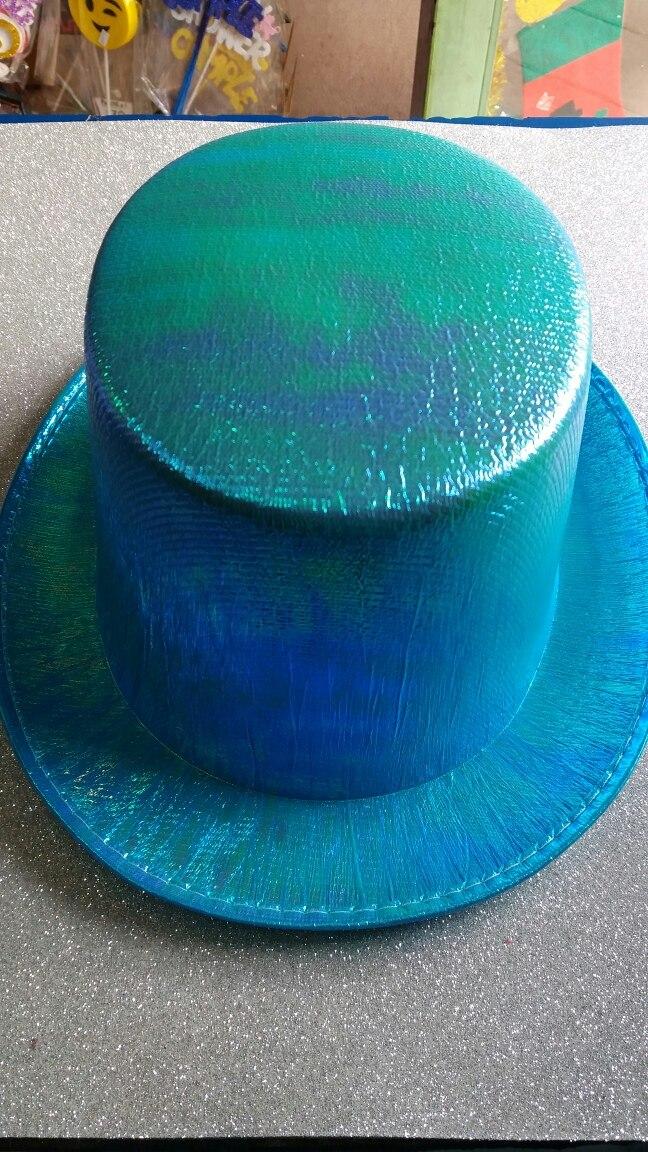 Galera Sombrero En Celeste Cotillon Funbren Fiestas Gorros -   130 ... d50347ce536