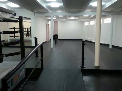 galeria loja academia musculação piso pvc borracha ecológico