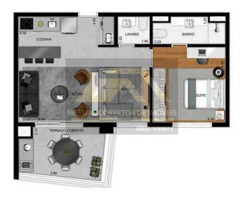 galeria morais de barros - 61 metros - 87