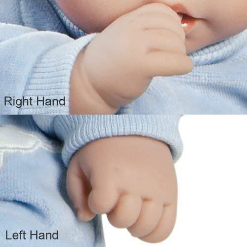 galerías paraíso renacer bebé muñeca finn & sparky, 9 p