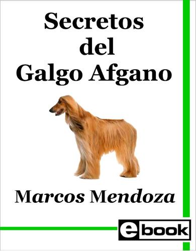 galgo afgano - libro adiestramiento cachorro adulto crianza