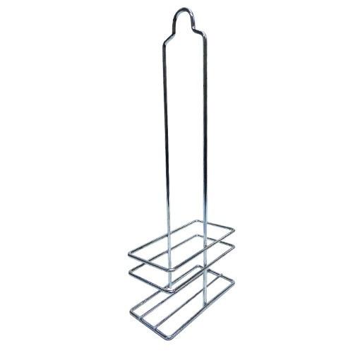 galheteiro porta tempero base em vidro 2 peças + suporte