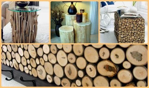 galhos madeira para topiaria