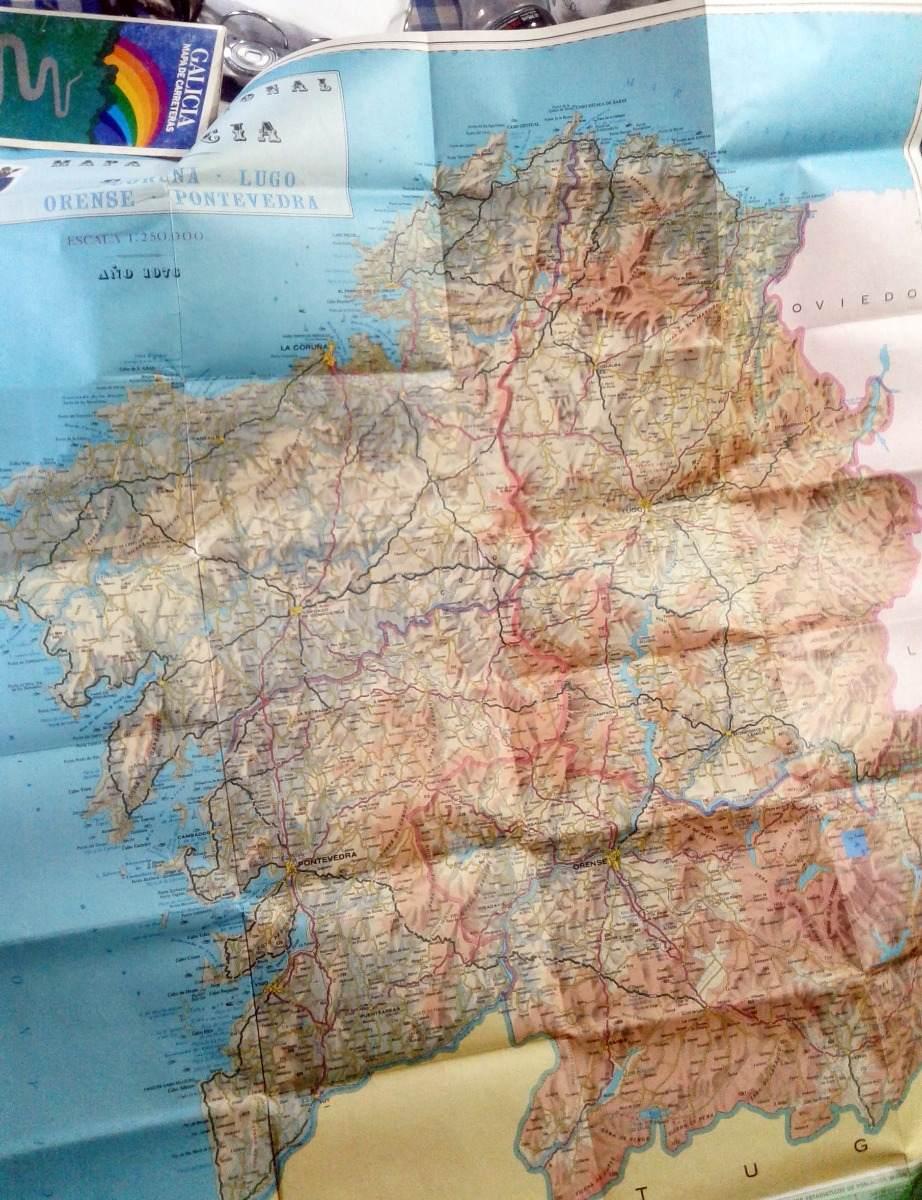 Mapa De Carreteras Galicia.Galicia Mapa De Carreteras