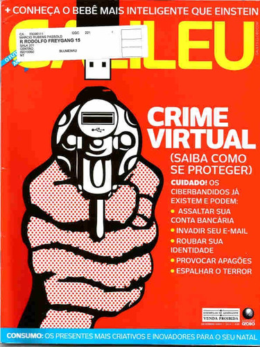 galileu 221 * dez/09 * crime virtual