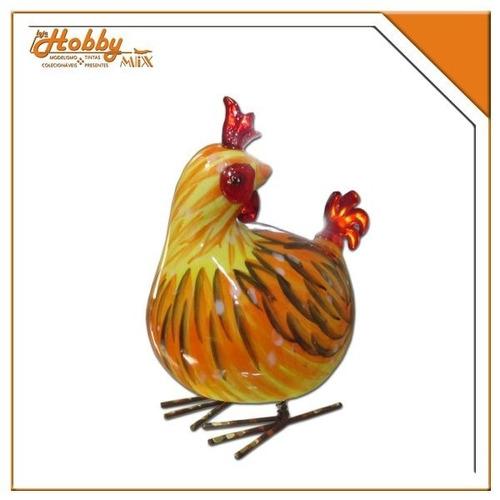 galinha  decorativa balance-me mod b