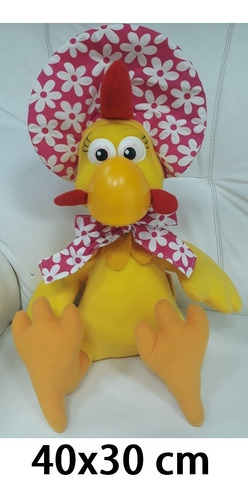 galinha pintadinha boneca pelúcia c/ 40 cm presente crianças
