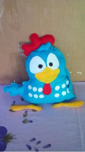galinha pintadinha boneco em feltro 40 cm