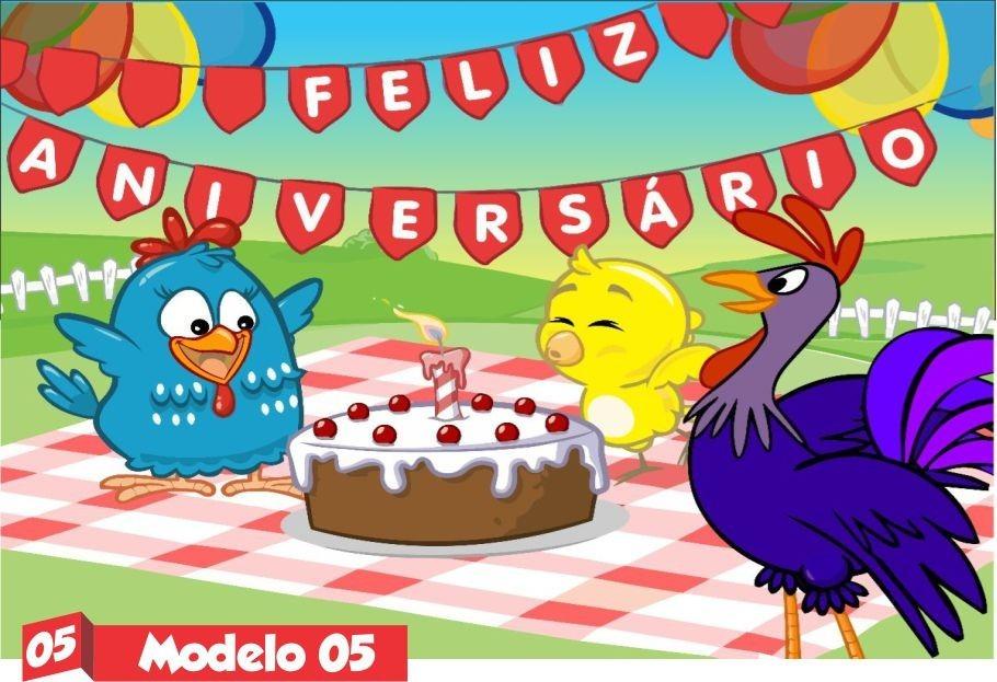 Galinha Pintadinha Rosa Menina Painel Festa Aniversario R 7500