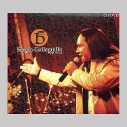galleguillo sergio 15 años cd + dvd nuevo