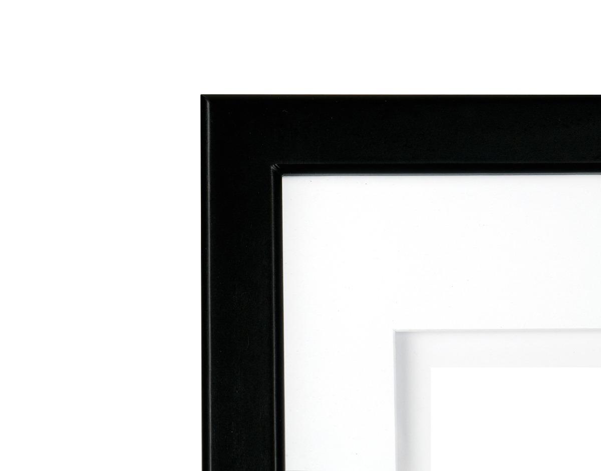 Gallery Solutions Marco De Pared De Madera Negra 11x14 Con ...
