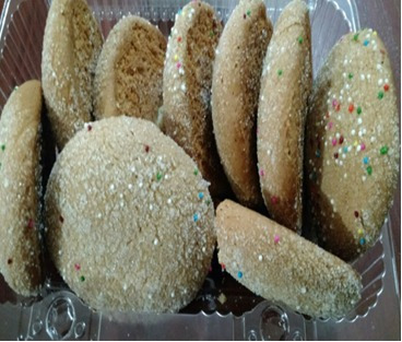 galletas azucaradas y pan de queso para colmado y eventos