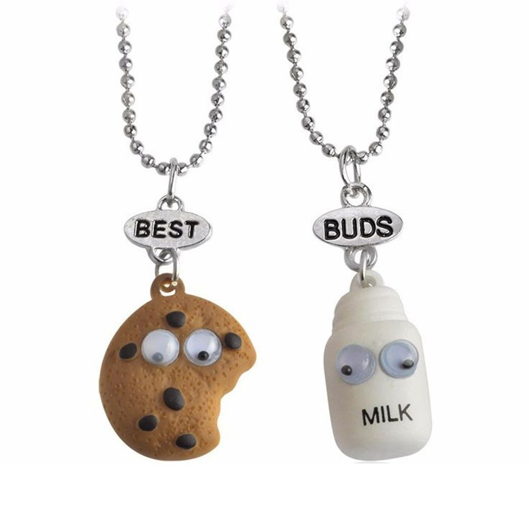 Galletas de leche girl cute best friends pendants necklace galletas de leche girl cute best friends pendants necklace 22430 en mercado libre aloadofball Images