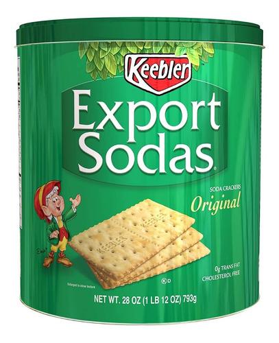 galletas de soda en lata keebler las originales en lata