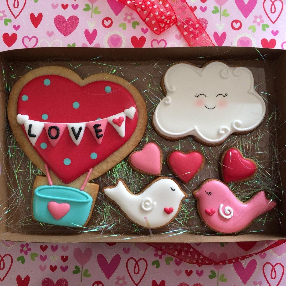 Galletas Decoradas 14 Febrero San Valentin Amor Y Amistad
