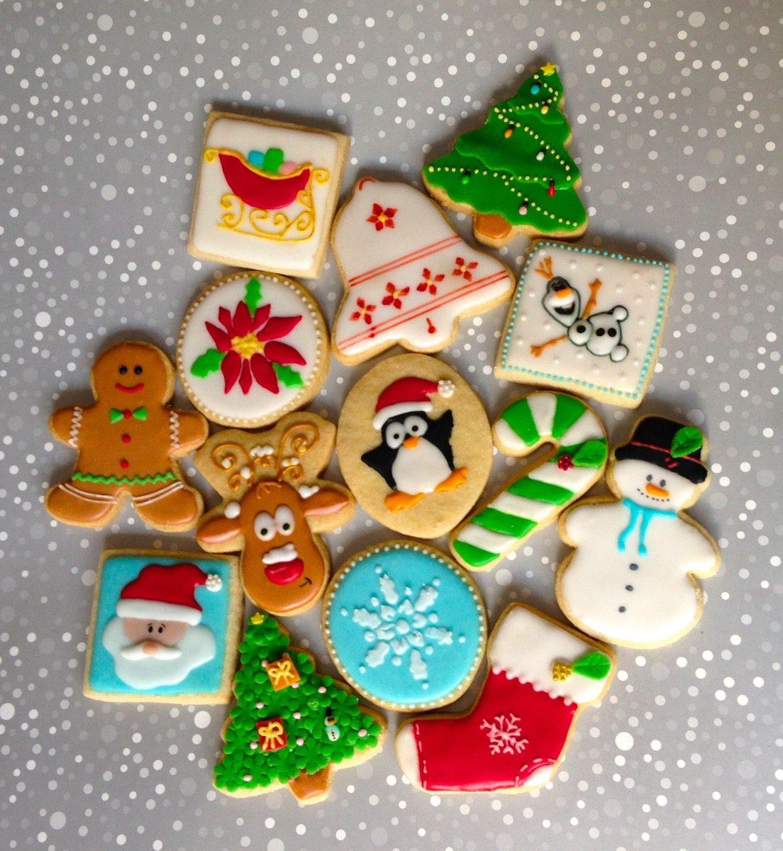Imagenes De Galletas De Navidad Decoradas.Galletas Decoradas De Navidad