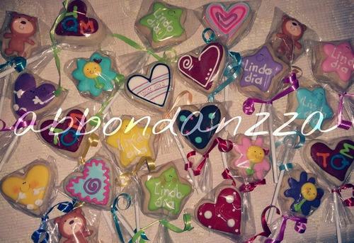 galletas decoradas dia del amor y la amistad te amo mamut