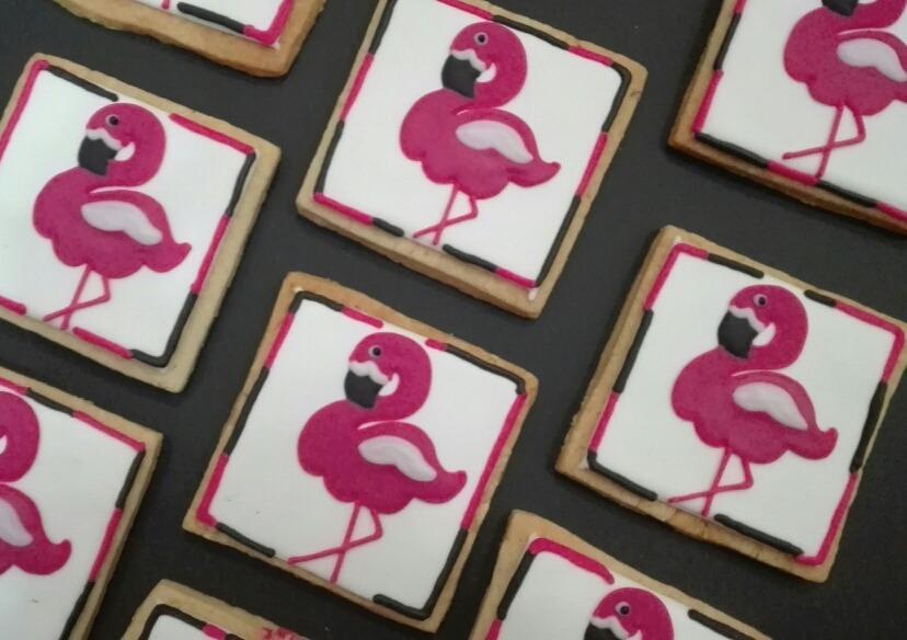 Galletas Decoradas Flamingos