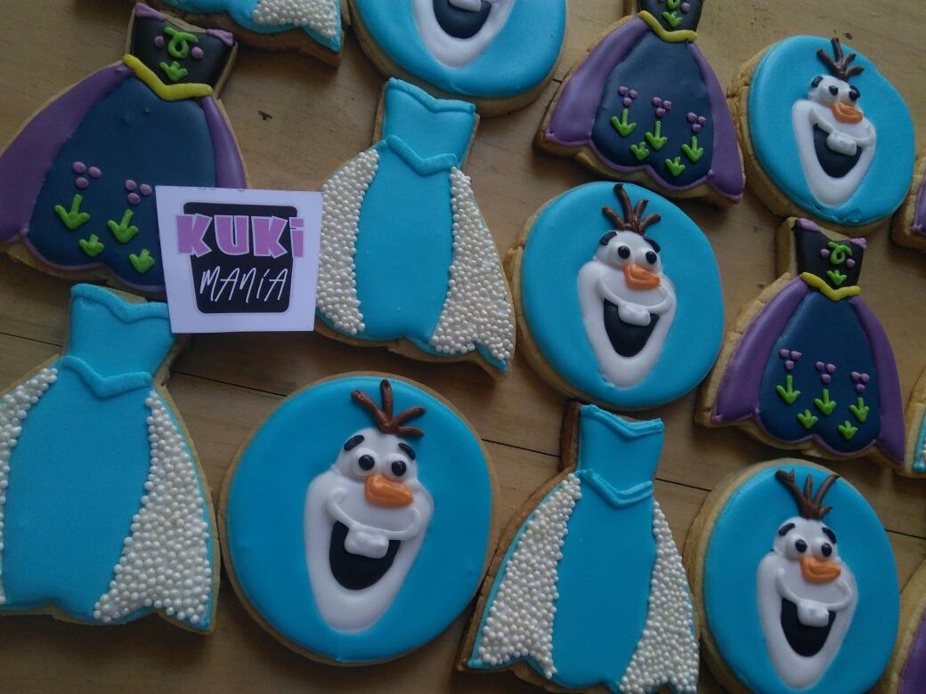 Galletas Decoradas Frozen