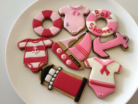 Galletas Decoradas Marina Nautico Faro Baby Shower