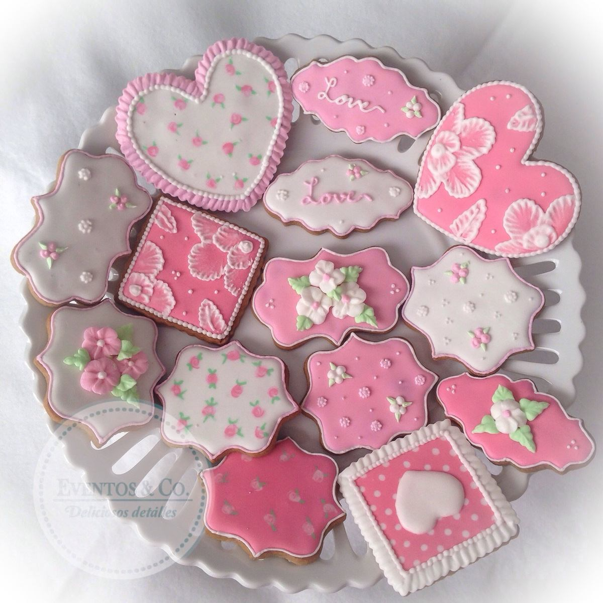 Galletas Decoradas Mesa De Dulces Recuerdos Baby Shower