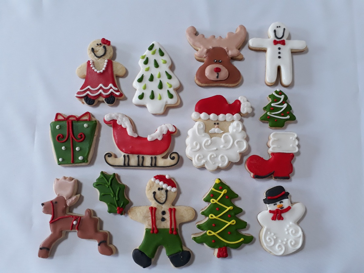 Imagenes De Galletas De Navidad Decoradas.Galletas Decoradas Navidad