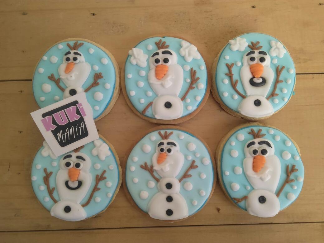 Galletas Decoradas Olaf Frozen