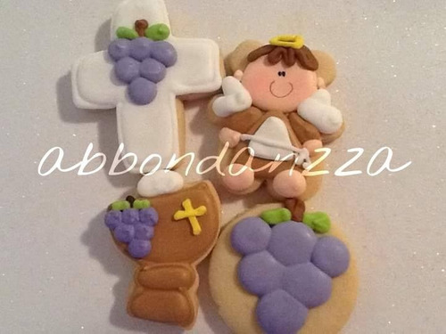 galletas decoradas primera comunion mamuts bubulubus