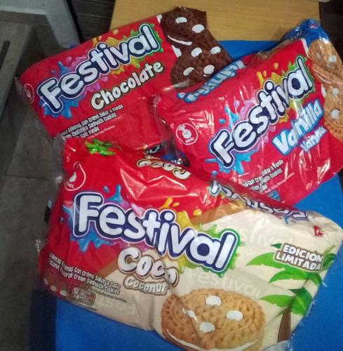 galletas festival oreo caramelos chupetas pinguinitos y más