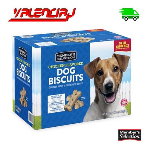 galletas para perro members selection 10 libras 4.5 k pollo