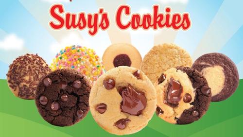 galletas promoción susy's cookies  combo 38 unidades