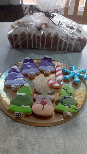 galletas y budines navideños