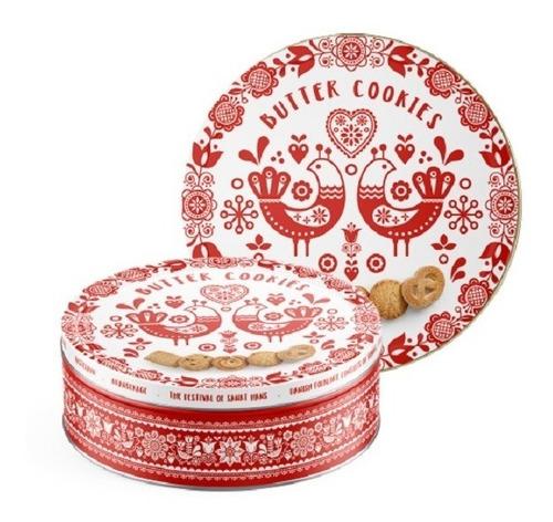 galletitas danesas de manteca en lata 454gr env. gratis caba