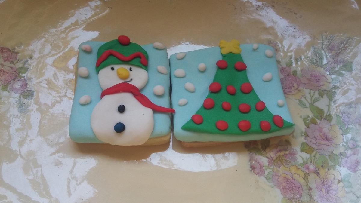 Galletitas Decoradas Navidad Zona Sur