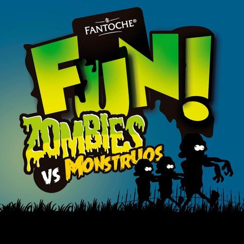 galletitas fun zombies vs monstruos fantoche 150g caja x12