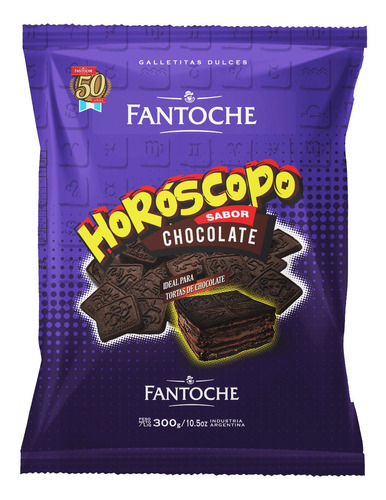galletitas horoscopo chocolate fantoche 300g choco dulces